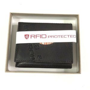 Spikes And Sparrow Mens Leather Trifold Wallet
